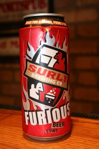 Furious by Surly Brewing Company in Brookly Center, MN should be hung on a wall as a fine work of art.  Yes, it is that good!