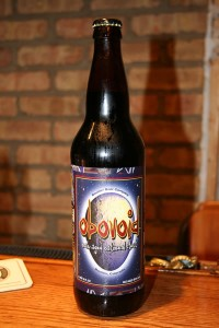 Obovoid Oak-Aged Oatmeal Stout by Boulder Beer Company.  Nice and unexpected creaminess.