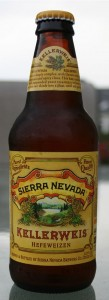 Sierra Nevada Kellerweis one of three beers reviewed last night that all made my palate dance for joy.