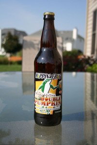 Hoppin' Frog Frog's Hollow Double Pumpkin Ale, some yummy, guilty, drinkable pleasure!