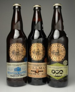 Flossmoor Station Brewery beers that they bottle and sell locally througout the Chicagoland area.