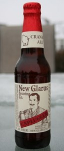 new glarus brewing company unplugged cranbic ale
