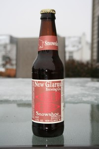 new glarus brewing co. snowshoe red ale