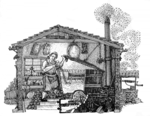 old brewing image
