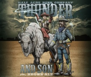 half acre brewing company thunder and son