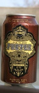 crow peak brewing company pile o' dirt porter