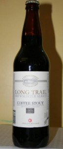 long trail brewing company coffee stout - brewmaster series