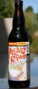 midnight sun brewing company artic rhino coffee porter