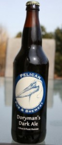 pelican pub & brewery doryman's dark ale