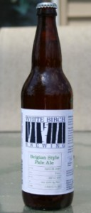 white birch brewing belgian style pale ale