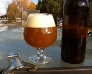 Bomber of Little Mon' Down Under home brew.