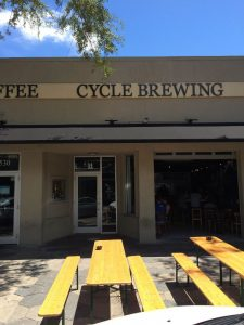 Cycle Brewing Company.  So many breweries in such a small area in St. Petersburgh.