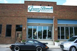 Green Bench Brewing Company, easily my favorite stop of the day in St. Pete's.  Very interesting lineup of sours.