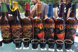 three floyd dark lord 2 ounce vertical pours