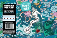 Revolution Brewing - Double Dry-hopped Tropic Hero
