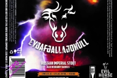 Eyjafjallajokull - Russian Imperial Stout Aged In Brandy Barrels