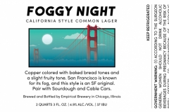 Empirical Brewery - Foggy Night California Style Common