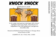 Empirical Brewery - Knock Knock Doppelbock