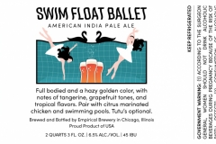 Empirical Brewery - Swim Float Ballet American India Pale Ale