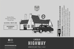 Art History Brewing - Lincoln Highway American Pale Ale