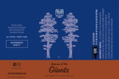 Avenue Of The Giants - West Coast Style India Pale Ale