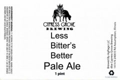 Cypress Grove Brewing - Less Bitter's Better