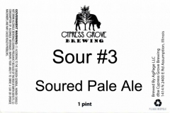 Cypress Grove Brewing - Sour #3