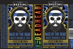 Destihl Brewery - Deadhead Ipa Series: Haze Of The Dead