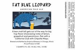 Empirical Brewery - Fat Blue Leopard American Pale Ale