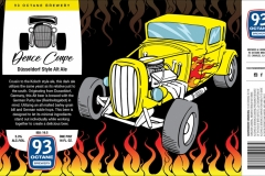 93 Octane Brewery - Deuce Coupe