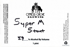 Cypress Grove Brewing - Super M Stout