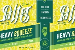 Alter Brewing Company - Heavy Squeeze