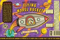 Side Lot Brewery - Flying Model Rocket
