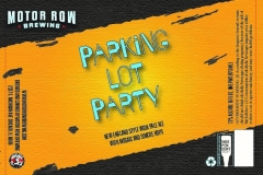 Motor Row Brewing - Parking Lot Party