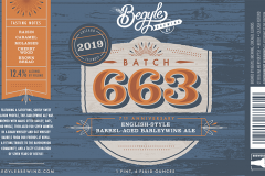 Begyle Brewing - Batch 663