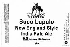 Cypress Grove Brewing - Suco Lupulo New England Style India Pale Ale