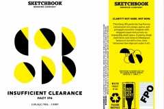 Sketchbook Brewing Co. - Insufficient Clearance