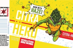 Revolution Brewing - Citra Hero Hazy
