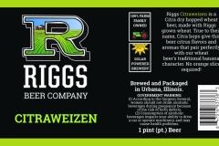 Riggs Beer Company - Citraweizen