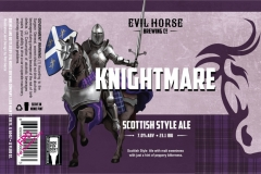 Evil Horse Brewing Company - Knightmare