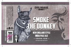 Evil Horse Brewing Company - Smoke The Donkey