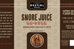 Destihl Brewery - Snore Juice Re-duex
