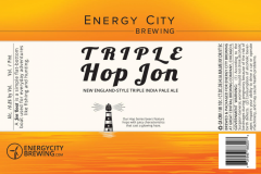 Energy City Brewing - Triple Hop Jon