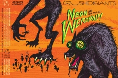 Crushed By Giants - Neon Werewolf