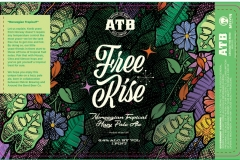Around The Bend Beer Company - Free Rise Norwegian Tropical Pale Ale