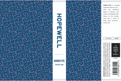 The Hopewell Brewing Company - Good Eye Zwickle Lager