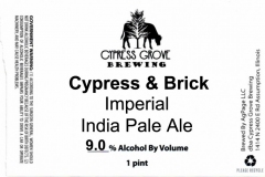 Cypress Grove Brewing - Cypress & Brick