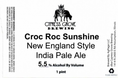 Cypress Grove Brewing - Croc Roc Sunshine