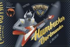 Metropolitan Brewing - Humbucker Dortmunder Lager