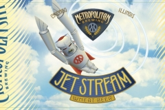 Metropolitan Brewing - Jet Stream Wheat Beer